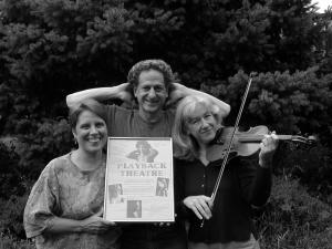 Judy Swallow, Jonathan Fox, and Jo Salas